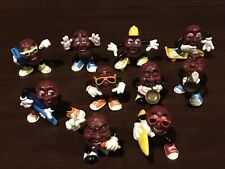 Lot 10 The California Raisins Figures Set 1987 1988