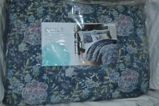 Martha Stewart Full/Queen Collector's Quilt Blue Floral - NIP