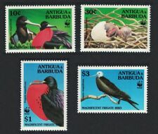 Antigua-et-Barbuda WWF MAGNIFIQUE AIGLE 4 V SG#2049 = 2055 SC#1847-1853
