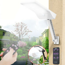 48 LED Solarleuchte mit Bewegungsmelder Außen Fluter Gartenstrahler Solar Lampe
