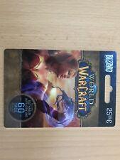 World Of WarCraft - GameCard (60 Tage Prepaid) (PC, 2005) Guthaben Wow Blizzard