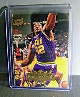 1995-96 Karl Malone Fleer Ultra #185 Basketball Card