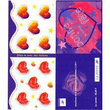 Bande Carnet BC3221A / BC25 - Dites-le avec des timbres - 1999