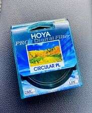 Genuine HOYA 58mm Pro 1 Digital Circular PL Filter PRO1D CPL Made In Japan.