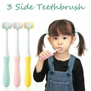 1pcs Baby Toothbrush Soft Brush Children Oral Hygiene Care For Baby 2-12 Years`
