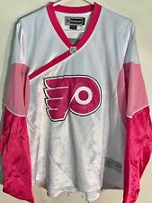Reebok Women's NHL Jersey PHILADELPHIA Flyers Team Pink Fashion sz M