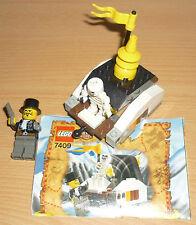Lego Orient Expedition 7409 esqueleto con escondite V. 2003 + Oba