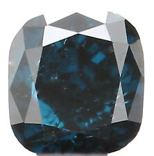 Natural Loose Diamond Cushion SI1 Clarity Blue Color 2.70MM 0.12 Ct KR242