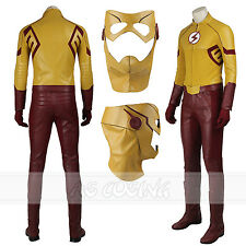 The Flash Season 3 Kid Flash Cosplay Costume Halloween Costume All Size