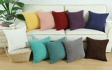 CaliTime Cushion Covers Pillows Shells Supersoft Corduroy Corn Striped 40 x 40cm
