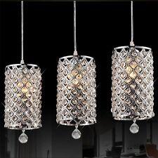 Crystal Ceiling Light Pendant Lamp Fixture Lighting Chandelier F/ Dining Room US