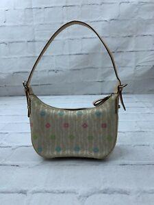 Fossil Women's Hobo Satchel Purse Small Hand Bag Beige ZB4058