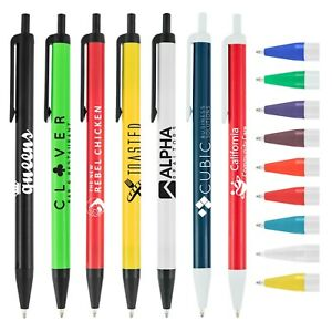 Promotional Pens Custom Printed with your Company Logo + Info  - art - 500 QTY