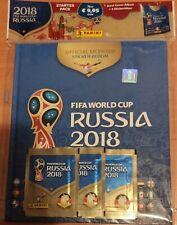 FIFA WORLD CUP - RUSSIA 2018 - Hard-Cover-Album + 3 Sobres Alemanes - PANINI