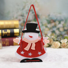 Christmas Candy Bag Elf Elk Pant Treat Pocket Santa Claus Home Party Gift Decor #6