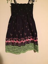 Summer Dress With Elastic Chest And Tie Straps