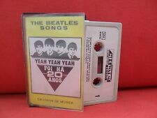 THE BEATLES [cassette] OBSCURE 82' bizarre SYNTH MINIMAL COVER SONGS Warm Label
