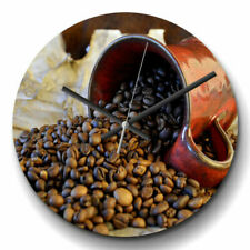 Coffee 21st Century (2000-now) Era Wall Clocks