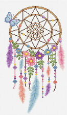 Colourful Dreamcatcher - Cross Stitch Chart - FREE POST