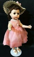 Madame Alexander 1950's! LISSY Doll Vintage Original Outfit Hat Stand LOVELY 11""