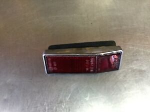 Alfa Romeo Spider • Altissimo Red Side Marker Light + Bezel. Used.     AR3120