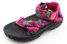 Teva Toddler Girls Sz 10 Medium Pink Sandals Fabric
