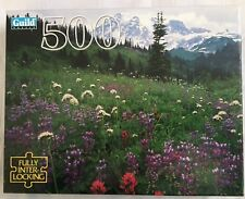 Guild MT. Rainier National Park WA 1996 500 Piece Jigsaw Puzzle Sealed PB NIB