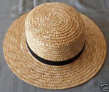 Men's Amish Straw Hat - S, M. L, XL, XXL, & Boys