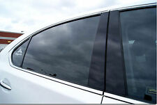 Fits Volkswagen Passat 2012 -up Sedan Black B-Pillars Pillars Window Trim CFF