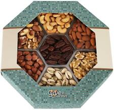 GIVE IT GOURMET, Freshly Roasted Delicious Healthy Nuts Holiday Gift Basket...