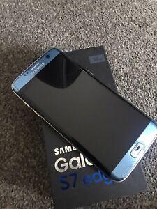 Samsung Galaxy S7 edge Blue Coral With Box