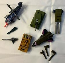 Vintage Transformers G1 Bruticus Combaticons Blast Off Brawl Swindle 1987 lot