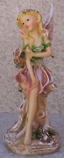 "Garden Accent Free Standing Winged Fairy #1 NEW 9 1/2"" tall"