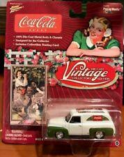 Johnny Lightning 1955 FORD PANEL VAN DELIVERY 2004 Coca-cola No. 9