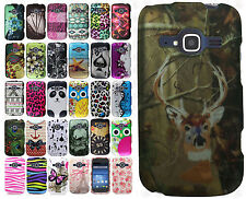 For ZTE Concord II 2 Z730 Rubberized HARD Protector Case Snap On Phone Cover