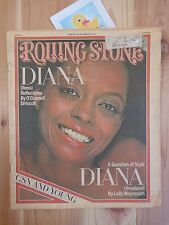 ROLLING STONE Magazine AUGUST 11 1977 Diana Ross Diana Vreeland Issue 245