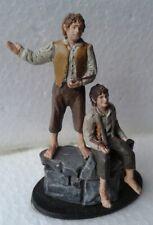 Herr der Ringe - Sammelfigur Nr.35 - Merry u. Pippin in Isengart