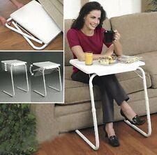 Portable Mate ll Adjustable Folding Table Tv Dinner Laptop Tray Desk Sofa Bed