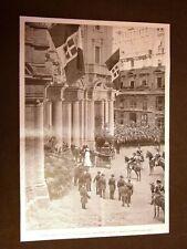 La visita dei Sovrani a Milano nel 1901 Visita del palazzo della Borsa