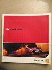 Renault Twingo Car Brochure - January 2012