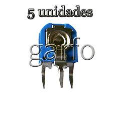 5 Potenciometro Vertical 20000 20K Ohm 1/2 W  Resistencia Variable ajustable