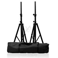 Tripod Speaker Stands & Carry Case High Quality DJ PA Monitor Disco Stands Kit