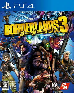 Borderlands 3 Sony Playstation 4 PS4 Video Games From Japan Tracking NEW