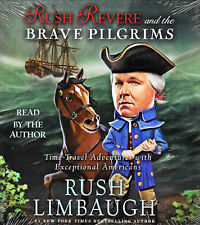 NEW Rush Revere and the Brave Pilgrims Audio Book 4 CD Unabridged Limbaugh Story