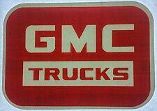 Original Vintage Gmc Truck Iron On Transfer