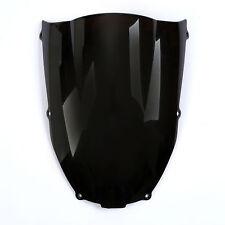 Windscreen Windshield Screen For Kawasaki Ninja ZX6R/636 2000 2001 2002 Black