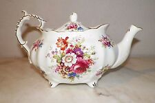 HAMMERSLEY BONE CHINA FLORAL & ROSES DESIGN TEAPOT MADE IN ENGLAND