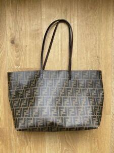 Fendi Zucca Tote Shoulder Bag 100% Authentic Monogram