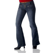 Angels Dark Wash Back Pocketless Jeans