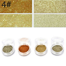 4pcs/set Color Mixed Eye Shadow Makeup Powder Pigment Mineral Eyeshadow HU PL PL